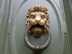 A Florentine doorknob