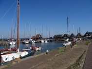 The harbour, Marken