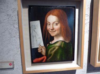 Portrait of a young girl, Castelvecchio