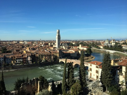 The city, the river the Duomo