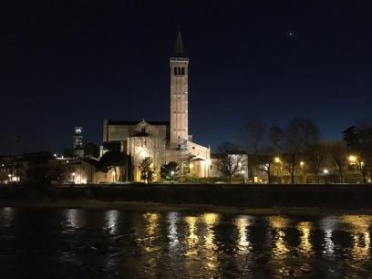 Sant'Anastasia at night