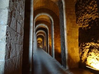Inside the Grotta di Seiano