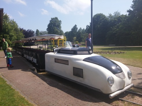 The train at the lovely Amstelpark