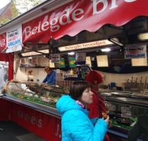 Fast food in the market