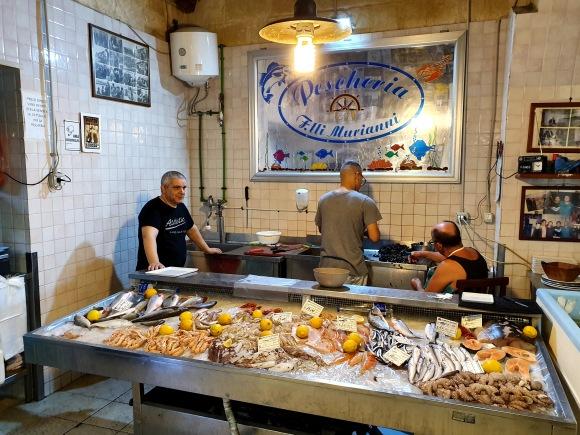 Taranto fish restaurant