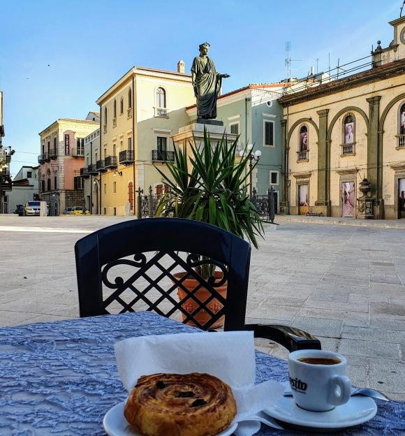 Breakfast with Horace, Venosa