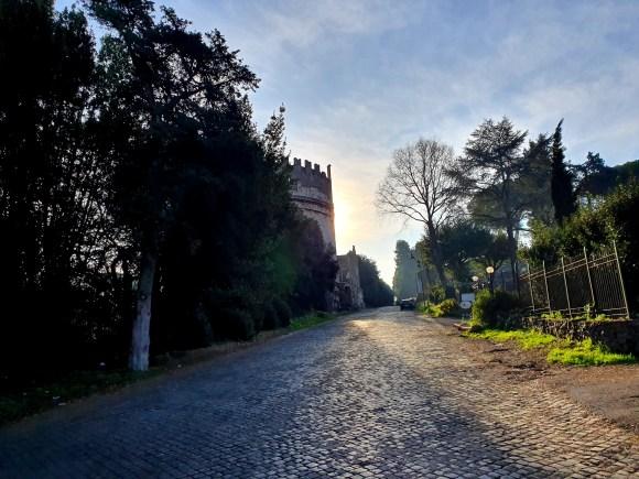 The Appian Way outside Rome
