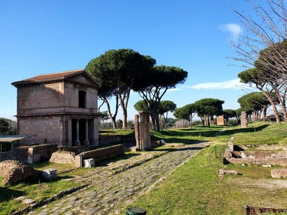 The Via Latina, Rome